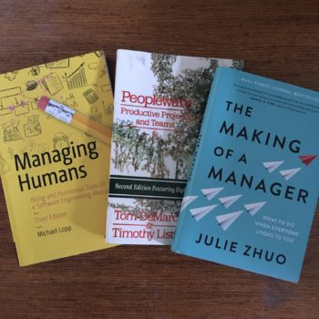 Books for New Engineering Managers